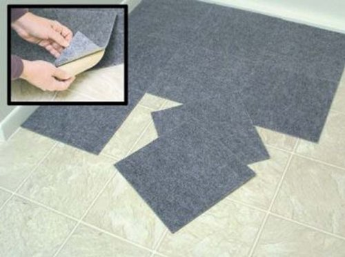 "Stick Tiles Peel and Stick Beige Berber Carpet Tiles 12""x12"" Set of 10 at Sears.com"