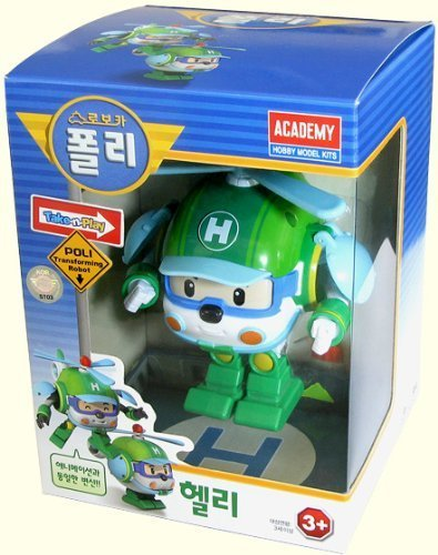 ROBOCAR POLI Poli + Helly + Amber + Roy (Transformable Robot Toys) 4pcs set robocar poli korea kids toys robot transformation anime action figure toys for children