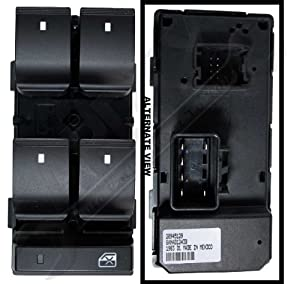 apdty 100000 power window switch master 5. Black Bedroom Furniture Sets. Home Design Ideas