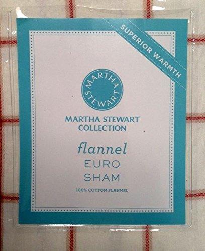 Martha Stewart Collection, Lehigh Plaid Flannel Euro Sham front-1008713