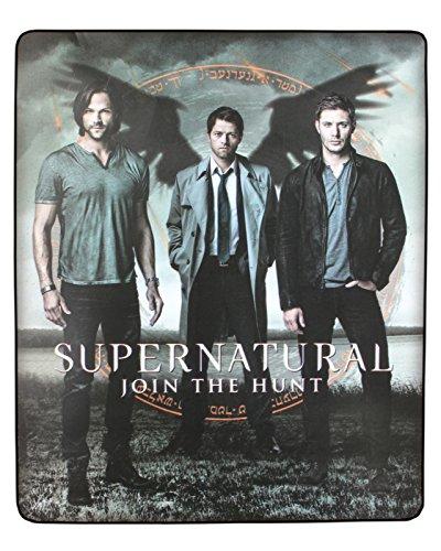 "Supernatural Join The Hunt Fleece Blanket 40""X60"" front-518454"