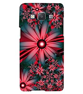 ColourCraft Flowers Design Back Case Cover for SAMSUNG GALAXY A8