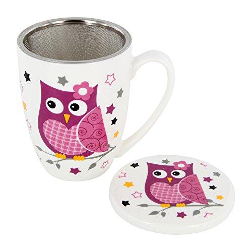 tasse hibou free mug infusion hibou ml avec couvercle et filtre inox with tasse hibou best. Black Bedroom Furniture Sets. Home Design Ideas