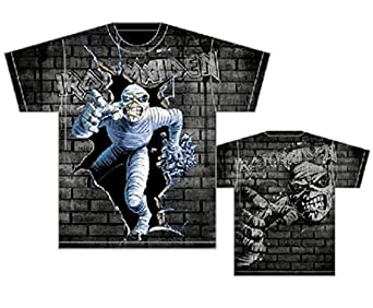 Iron Maiden T-shirt Mummy Break All Over Tee-small