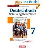 Deutschbuch - Gymnasium Bayern: 7. Jahrgangsstufe - Schulaufgabentrainer mit Lösungen