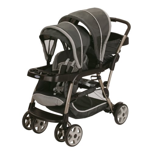 Best Review Of Graco Ready2grow Click Connect LX Stroller, Glacier 2015