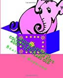 Cartoon Elephants Coloring Book: For Kid's Ages 4 to 9 Years Old