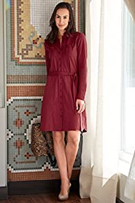 Fair Indigo Organic Fair Trade Shirt Dress