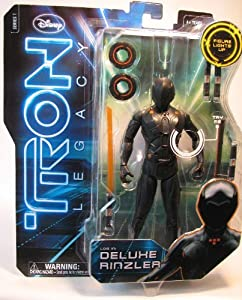 Disney Light Up Deluxe Rinzler TRON Legacy Action Figure -- 7''