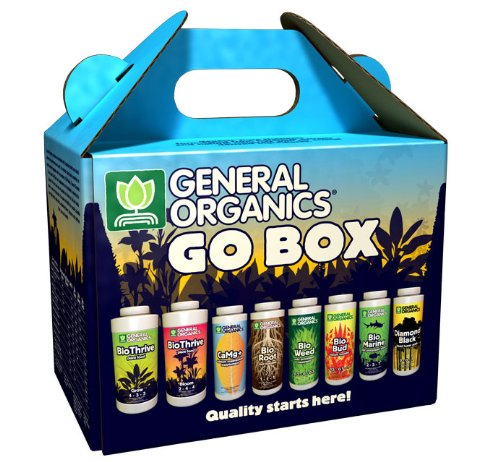 General Hydroponics Go Box Starter Kit - Organic