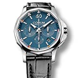 Corum Men's Admiral's Cup Legend 42mm Black Crocodile Leather Band Automatic Watch 984.101.20/0F01 AB20