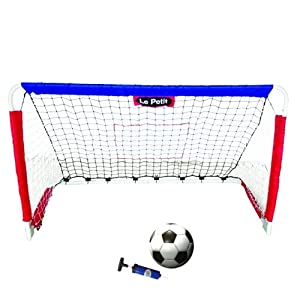Le Petit Sports - 4ft STEEL Foldable Soccer & Hockey Goal & Rebounder with... by Le Petit Sports