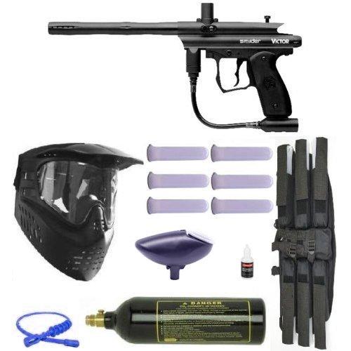 Spyder Victor 09 Paintball Gun Marker Mega Set