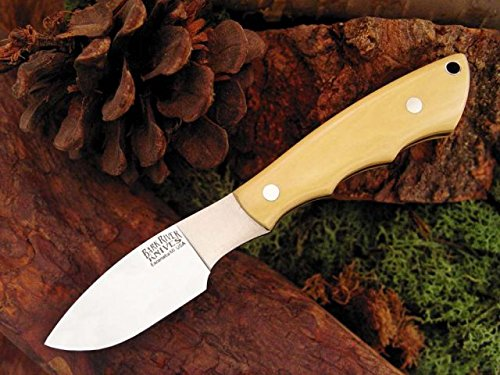 Bark River Mini Canadian Fixed Blade Knife,2.75In,A-2 Tool Steel Blade,Antique Ivory 133Mai