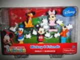 Mickey Mouse Clubhouse Mickey & Friends 5 Pack - Mickey, Minnie, Donald Duck, Goofy, Pluto