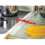 Set of 2 Oven Seam Protector - Heat Resistant Silicone Seam Stove Guard Eliminates Gap Between Counter And Oventop