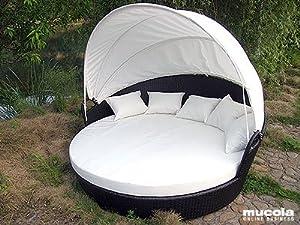 xxl rattan sonneninsel sonnenliege liege. Black Bedroom Furniture Sets. Home Design Ideas