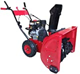 Power Smart DB7651 24-Inch 208CC Gas Powered Two Stage Snow Thrower With Electric Start