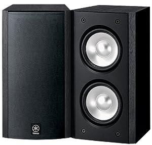 Yamaha NS-B310BL Full-Range Acoustic Suspension Bookshelf Speaker - Each (Black)