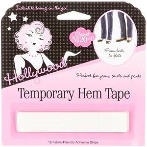 temporary hem tape 18 pcs beauty. Black Bedroom Furniture Sets. Home Design Ideas