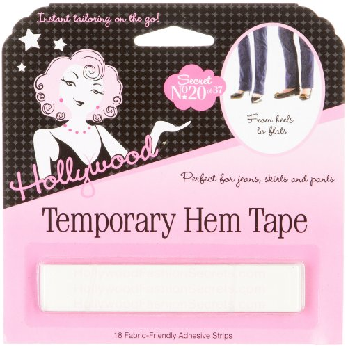 Lowest Prices! Temporary Hem Tape 18 strips by Hollywood Fashion Secrets