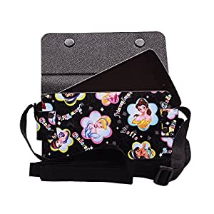 Colorkart Printed Mobile Pouch Handbag With Adjustable Strip For Karbonn Alfa A90 Mobile Phone (Synthetic Leather, Black)