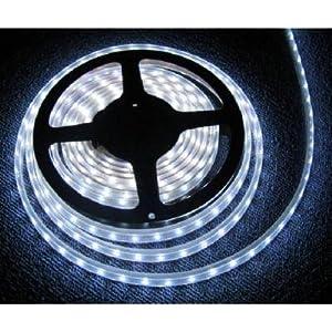 Full Dream Waterproof Cool White DC 12V 5M 3528 SMD 300 Leds LED Strips Strip Light