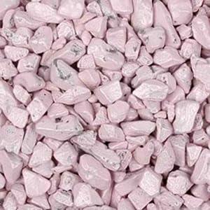 Light Pink Chocolate Rocks Candy Nuggets 1lb Bag