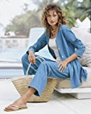 Spiegel Travel Weight Denim Tunic Jacket