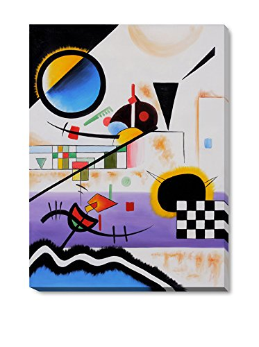 Wassily Kandinsky Contrasting Sounds Gallery-Wrapped Reproduction