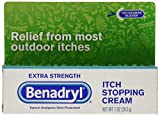 Benadryl Extra Strength Itch Stopping Cream, 1 Ounce
