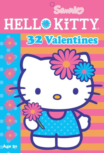 Hello Kitty Valentine Cards:32pk, 8 Cute Designs with seal!