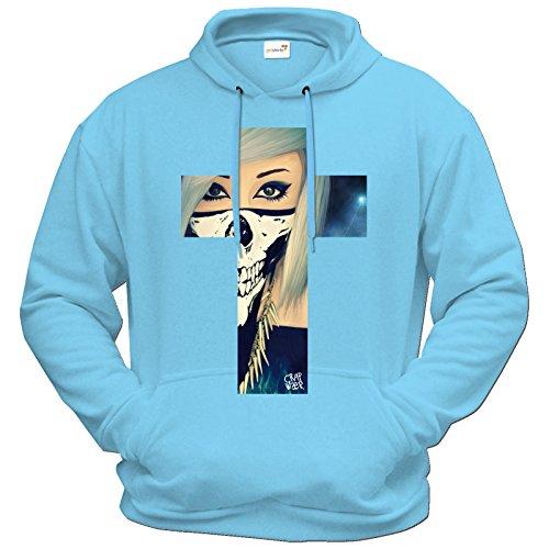 getshirts-purrfection-by-verena-schizophrenia-hoodie-verena-kreuz-pastellblau-l