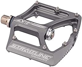 Straitline AMP Pedals with Cro-Mo Axle Silver