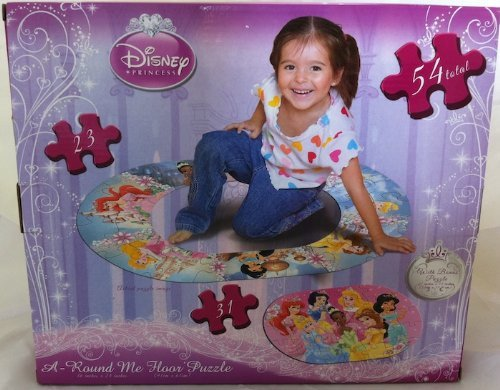 Cheap Cardinal Disney Princess A-Round Me Floor Puzzle 23 & 31 Piece Set (B00545WWR0)