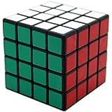 ShengShou 4x4x4 V5 Puzzle Cube Black + CFOP Rubik's Cube Method Card