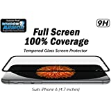 Window Armor Tempered Glass Screen Protector for iPhone 6 - Black