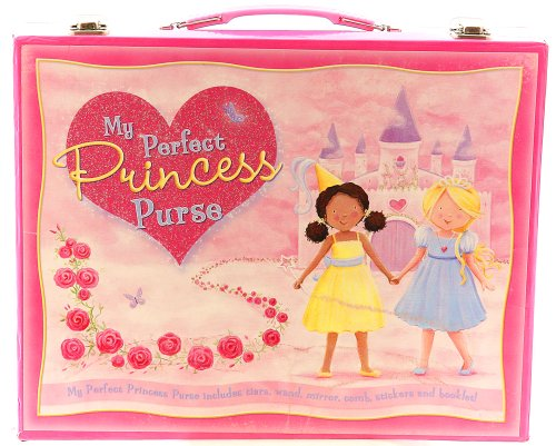 My Perfect Princess Purse with Tiara, Wand, Mirror, Comb, Stickers & Booklet