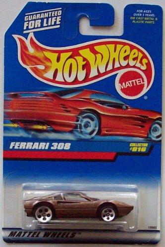 Hot Wheels 1998 Ferrari 308 Collector #816 [Metallic Brown] - 1