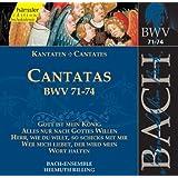 Edition Bachakademie Vol. 23 (Geistliche Kantaten BWV 71-74)