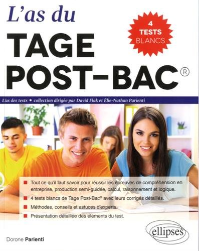 L'As du Tage Post-Bac® 2016 Tests Blancs