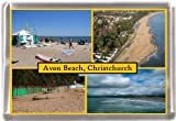 Avon beach christchurch Gift Souvenir Fridge Magnet