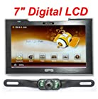 4UCam 7-inch LCD Touch Screen GPS with Wireless Backup license Camera and Bluetooth System
