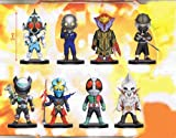 仮面ライダーシリーズ ワールドコレクタブルフィギュア vol.12 全8種セット
