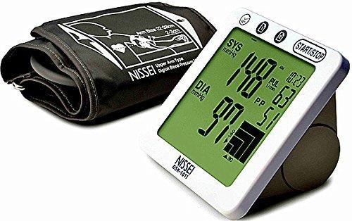 Nissei DSK-1011 Blood Pressure Monitor for Upper Arm by Mark of Fitness (Nissei Blood Pressure Monitor compare prices)