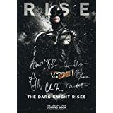 The Dark Knight Rises Poster Signed PP by 6 Batman Christian Bale, Morgan Freeman, Christopher Nolan, Gary Oldman, Tom Hardy, Anne Hathaway A4 Size 21cm x 29.7cm