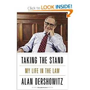 Taking the Stand: My Life in the Law by