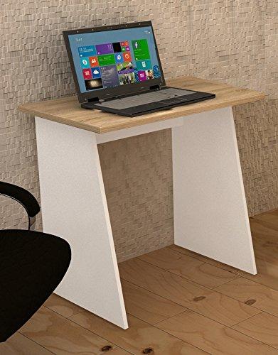 vcm 911201 schreibtisch masola mini computertisch arbeitstisch 74 x 80 x 50 cm wei sonoma. Black Bedroom Furniture Sets. Home Design Ideas