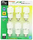 Sylvania 29490 23-Watt CFL Mini Twist Light Bulb, Soft White, 6 pack