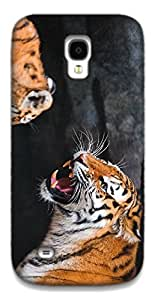 The Racoon Lean the tiger hard plastic printed back case / cover for Samsung Galaxy S4 Mini
